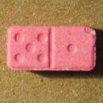 Pink Domino Pill MDMA